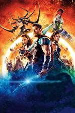 Bilder Thor: Tag der Entscheidung Hulk Held Chris Hemsworth Tom Hiddleston Krieger Jeff Goldblum, Idris Elba, Jeff Goldblum, Cate Blanchett Film Prominente
