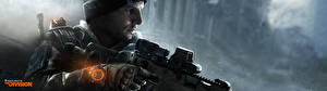 Pictures Tom Clancy Sniper rifle Snipers The Division vdeo game