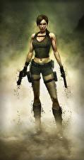 Images Tomb Raider Underworld Pistols Lara Croft Games Girls 3D_Graphics