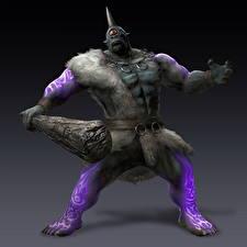 Bilder Krieger Bladestorm Nightmare, Cyclops Spiele Fantasy 3D-Grafik
