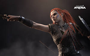 Image Warriors Total War: Arena Redhead girl Games Girls