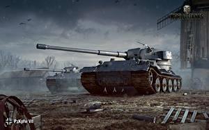 Sfondi desktop World of Tanks Carri armati Tedeschi Pz.Kpfw. VII gioco