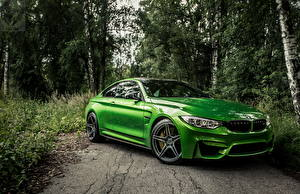 Image BMW Green Metallic f82 auto