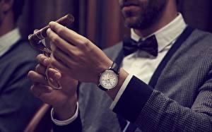 Fotos Uhr Armbanduhr Hand Zigarren Switzerland, Vacheron Constantin