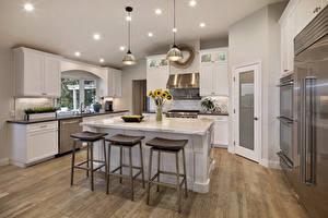 Photo Interior Design Kitchen Table Ceiling