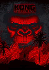 Wallpaper Kong: Skull Island Monkey Fan ART Snout