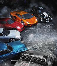 Pictures Lamborghini The Crew Games Cars