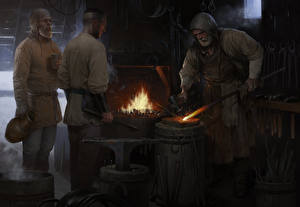 Image Men Kingdom Come: Deliverance Blacksmiths Games Fantasy
