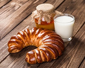 Fotos Backware Honig Milch Bretter Einweckglas Trinkglas Lebensmittel