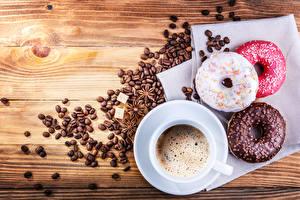 Bilder Sternanis Donut Kaffee Schokolade Bretter Getreide Tasse Lebensmittel