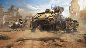 Images Technics Fantasy Crossout vdeo game 3D_Graphics Fantasy