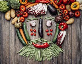 Hintergrundbilder Gemüse Tomate Peperone Grüne Erbsen Kartoffel Bretter Design