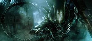 Hintergrundbilder Alien: Covenant Ungeheuer Grinsen Film Fantasy