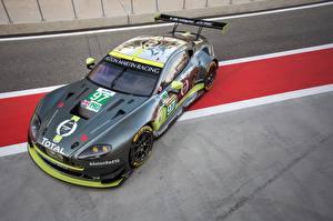 Hintergrundbilder Aston Martin Fahrzeugtuning Graues 2016-17 V8 Vantage GTE automobil