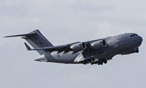 Bilder Boeing Flugzeuge Transportflugzeuge Flug C17