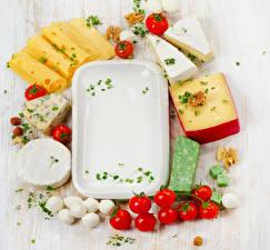 Bilder Käse Gemüse Tomate Schalenobst