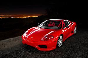Picture Ferrari Pininfarina Red Automobile 2003-04 Challenge Stradale Cars