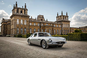 Photo Ferrari Vintage Pininfarina Gray Metallic 1965 500 Superfast automobile