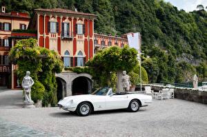 Pictures Ferrari Vintage Pininfarina White Cabriolet 1966-67 365 California auto