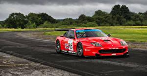 Pictures Ferrari Tuning Red Metallic 2001-03 Prodrive 550 GTO Maranello automobile