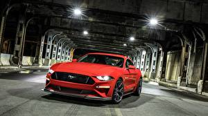 Fotos Ford Rot 2018 Mustang GT Level 2 Performance Pack Autos