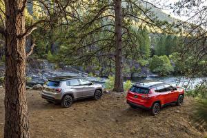 Image Jeep Two Metallic 2017 Compass Trailhawk automobile