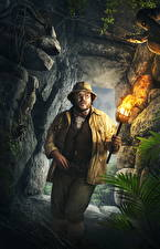 Pictures Jumanji: Welcome to the Jungle Torch Cave Jack Black (Professor Shelly Oberon) Movies