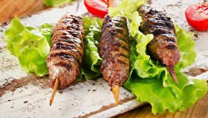 Fotos Fleischwaren Drei 3 kebab