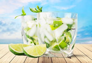 Images Mojito Lime Mixed drink Highball glass Ice Food