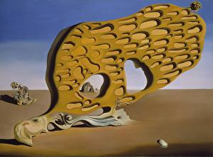 Wallpapers Pictorial art Salvador Dali Pictorial art The Enigma of Desire