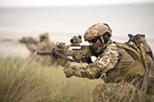 Hintergrundbilder Soldaten Sturmgewehr Spezialeinheiten Deutsche  Militär