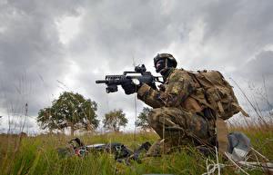 Fotos Soldat Sturmgewehr Spezialeinheiten Deutsch  Heer