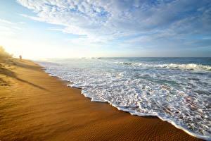 Hintergrundbilder Sri Lanka Küste Wasserwelle Himmel Strand Natur