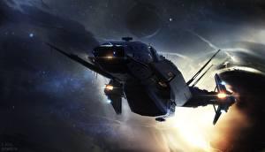 Bilder Star Citizen Raumschiff Spiele Fantasy