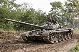 Bilder Panzer T-72 Russischer