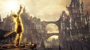 Photo Warrior Fortification Dark Souls III vdeo game Fantasy 3D_Graphics