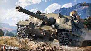 Images World of Tanks Self-propelled gun British FV217 Badger Games