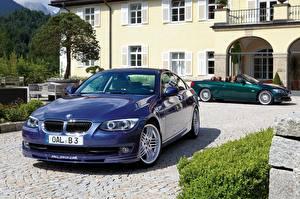 Wallpapers BMW Metallic Convertible 2017 Alpina B3 S Bi-Turbo Cabrio  Alpina B3 S Bi-Turbo Coupe Cars