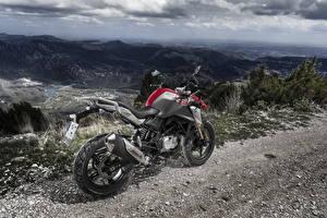 Fotos BMW - Motorrad Gebirge Hinten 2017 G 310 GS