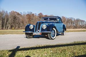 Picture BMW Retro Light Blue Metallic 1937-41 327 Cabriolet auto