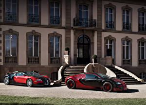 Hintergrundbilder BUGATTI 2 Luxus Metallisch 1999-2015 Veyron auto