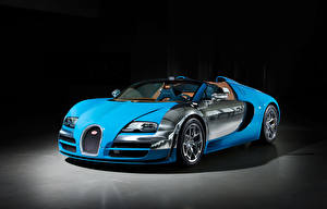 Pictures BUGATTI Expensive Light Blue Convertible 2013 Veyron Grand Sport Roadster Vitesse Meo Constantini Cars