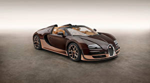 Wallpapers BUGATTI Brown Metallic Cabriolet Luxurious 2014 Veyron Grand Sport Roadster Vitesse Rembrandt