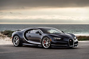 Images BUGATTI Black Metallic Luxury 2016-17 Chiron auto