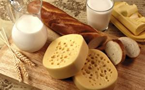 Hintergrundbilder Käse Milch Brot Trinkglas Kanne