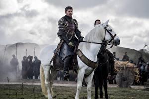 Bilder Pferde Mann Krieger Game of Thrones Jaime Lannister