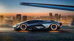 Wallpaper Lamborghini Side Terzo Millennio, Concept