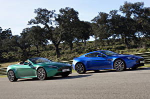 Wallpapers Aston Martin Two Convertible 2011 V8 Vantage S roadster Cars