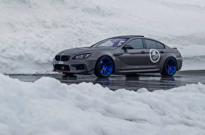 Pictures BMW Tuning Grey 2016 M6 Gran Coupe by Fostla Cars