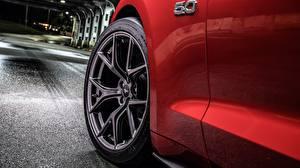 Hintergrundbilder Nahaufnahme Ford Rad Mustang GT 2018 Level 2 Performance Pack Autos